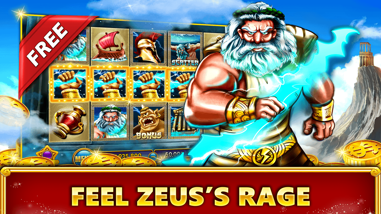 Zeus online slot game